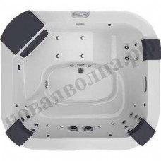 SPA бассейн Jacuzzi Delos PRO SOUND built in, 215х190х80 см